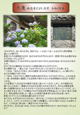 西念寺だより35号ー1